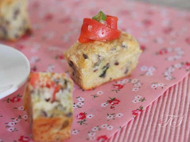 Mini Cake Saumon Poireaux