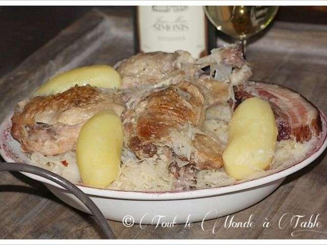Recettes de choucroute 17 - Cuisiner choucroute crue ...