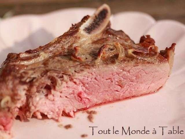 Les meilleures recettes d 39 chalote et b uf - Temps cuisson cote de boeuf ...