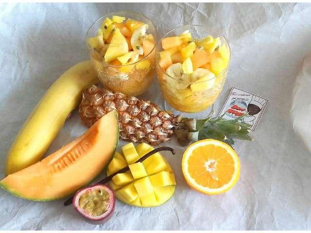 Recettes de salades et fruits 10 - Salade de fruits maison ...