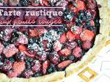 Tarte rustique aux fruits rouges