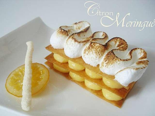 Recettes de tarte au citron de un amour de gourmandise - Recette tarte citron meringuee ...