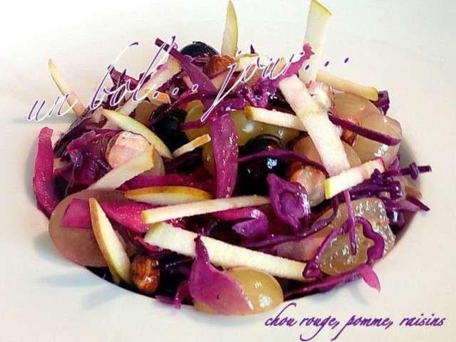 Recettes de chou rouge et raisin - Cuisiner un chou rouge ...