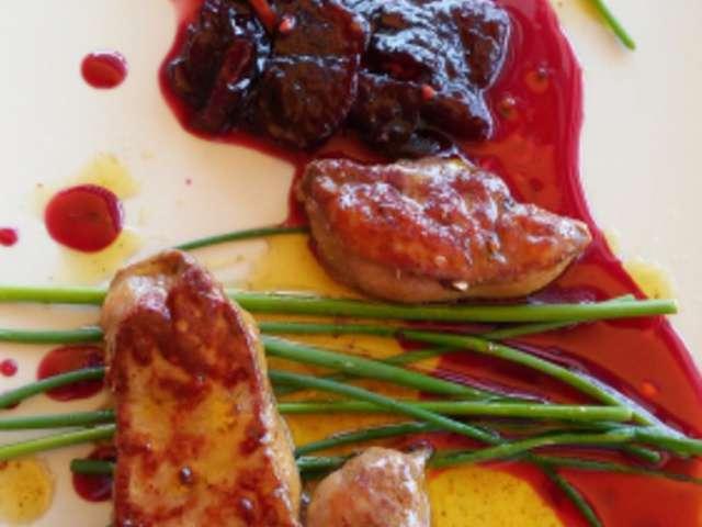 Recettes d 39 escalope de foie gras - Recette de foie gras ...