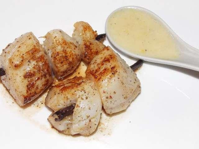 Recettes de noix de saint jacques et vanille - Cuisine noix de saint jacques ...
