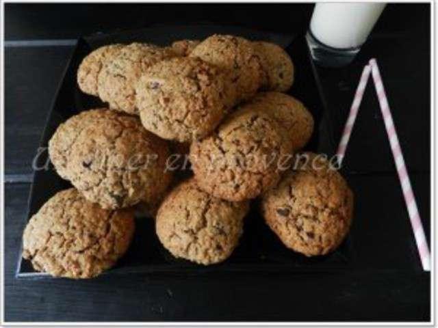 recettes de cookies au chocolat et fleur de sel. Black Bedroom Furniture Sets. Home Design Ideas