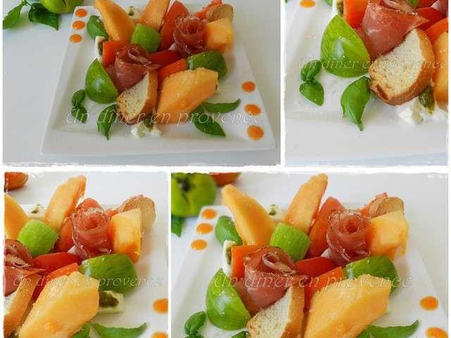 Les meilleures recettes d 39 t et salade d 39 t - Salade d ete composee ...