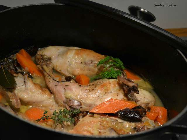 Recettes de lapin et pruneaux 2 - Cuisiner des crepinettes ...