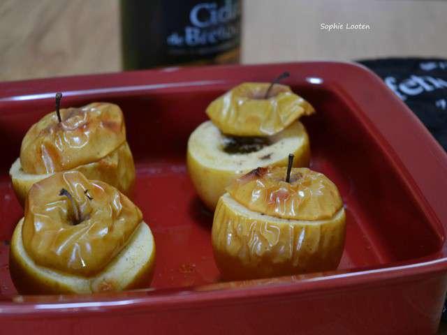 recettes de pommes au four et desserts