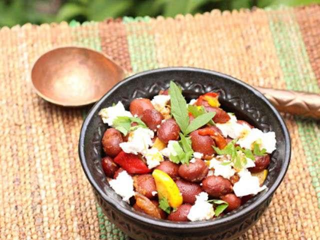 recettes de haricots rouges et salade de haricot. Black Bedroom Furniture Sets. Home Design Ideas