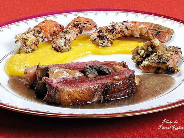 les meilleures recettes de langoustines et foie gras. Black Bedroom Furniture Sets. Home Design Ideas