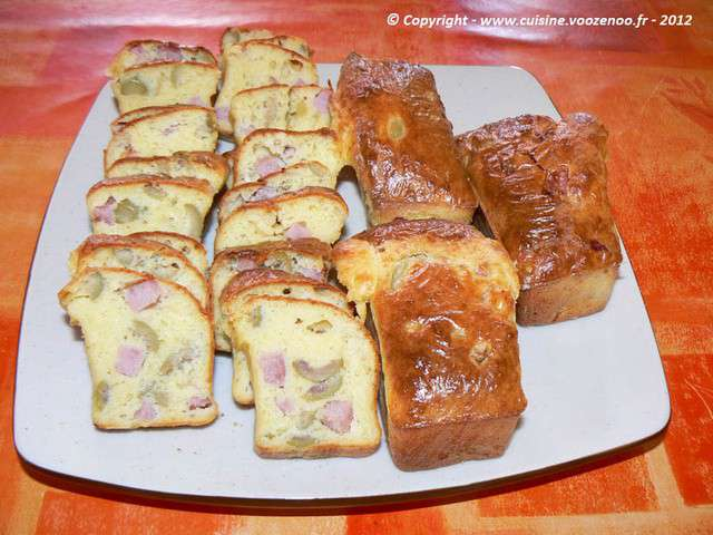 Presentation Cake Aux Olives