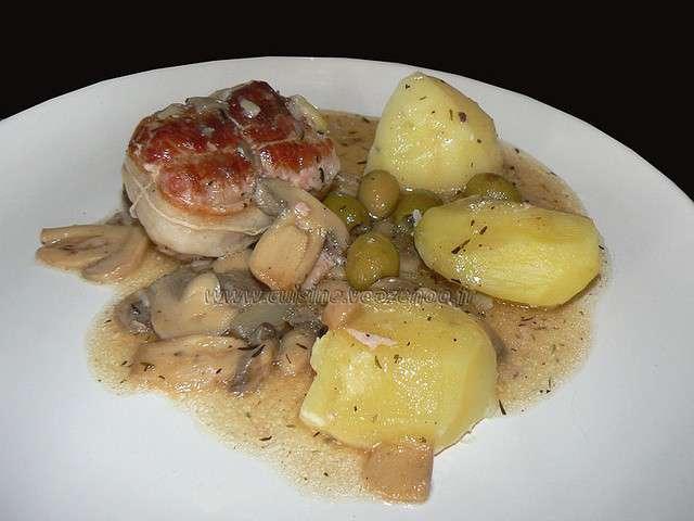 Recettes de plat familial et viande - Cuisine paupiette de veau ...