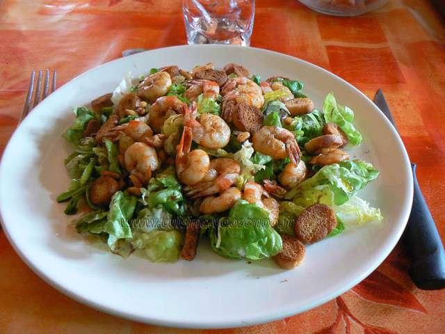 Les meilleures recettes de scampis et salades - Une cuisine pour voozenoo ...