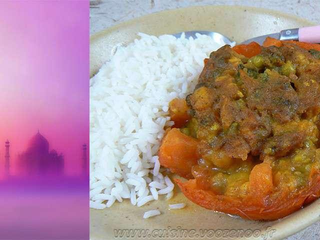 Recettes de tomates farcies et pices - Recette cuisine indienne vegetarienne ...