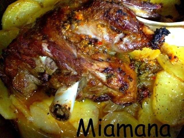 Les meilleures recettes d 39 agneau et pomme de terre 2 - Cuisiner une epaule d agneau ...