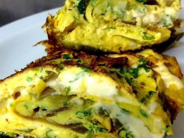 Recettes d 39 omelettes de une d butante en cuisine - Recette de cuisine simple pour debutant ...