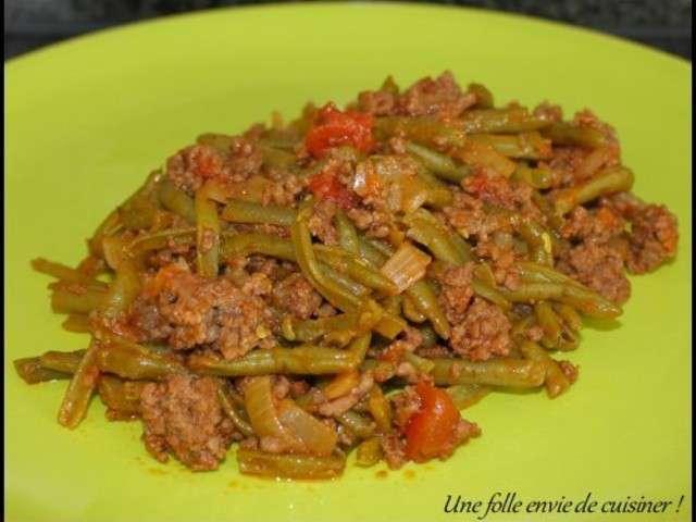 Recettes de haricots verts de une folle envie de cuisiner - Cuisiner haricot vert ...