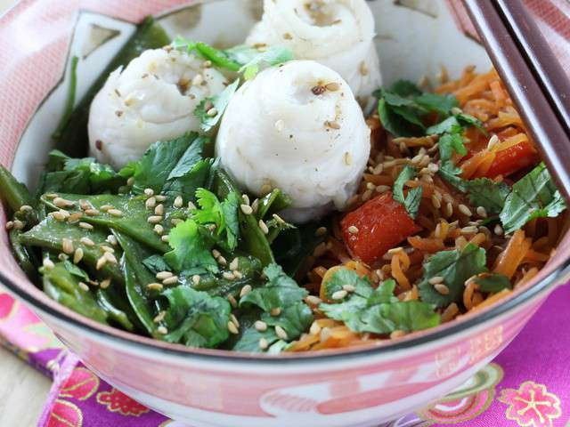 Recettes de soles et cuisine la vapeur - Cuisine asiatique vapeur ...