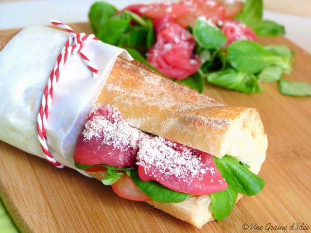 Recettes de sandwich et b uf - Idee de sandwich froid ...