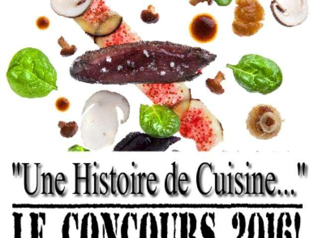 recettes de concours de une histoire de cuisine