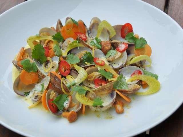 Les meilleures recettes de palourdes - Histoire des recettes de cuisine ...