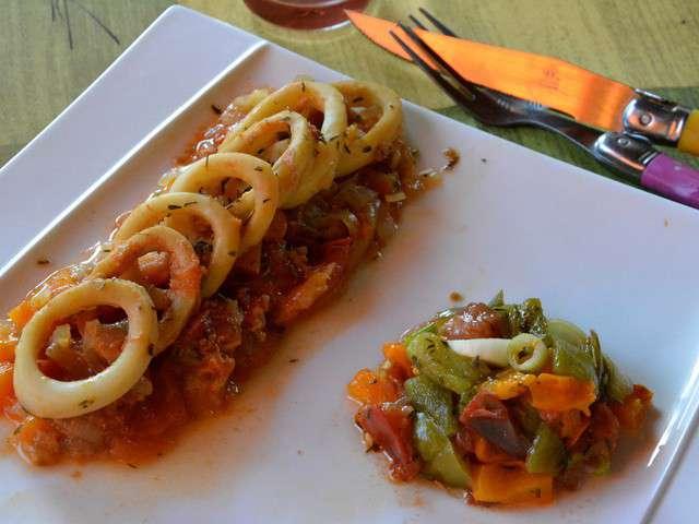 Recettes de calamars de a z 21 for La cuisine de a a z
