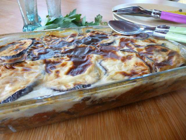 Recettes de gr ce et aubergines for Cuisine grecque