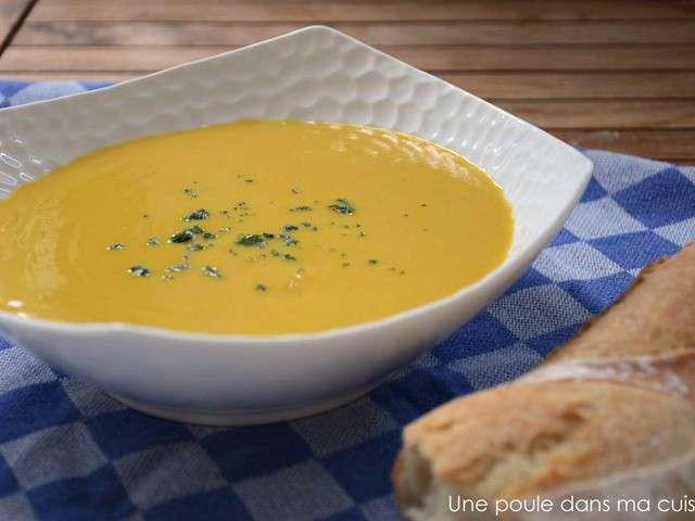 Recettes de soupe de l gumes et thermomix - Soupe de brocolis thermomix ...