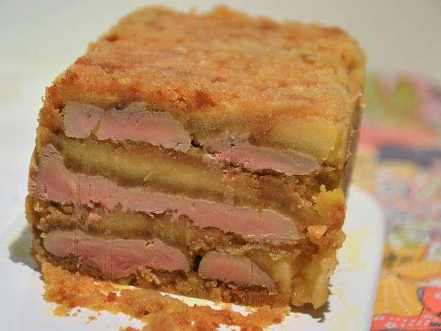Recettes de foie gras aux pommes caram lis es - Recette terrine foie gras ...