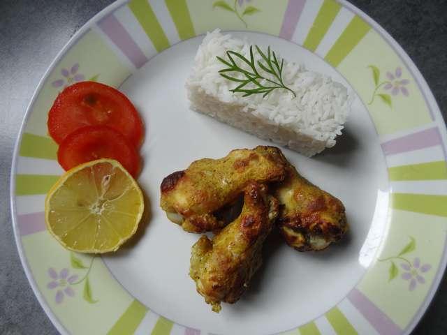 recettes de poulet tandoori de valeriecuisine. Black Bedroom Furniture Sets. Home Design Ideas