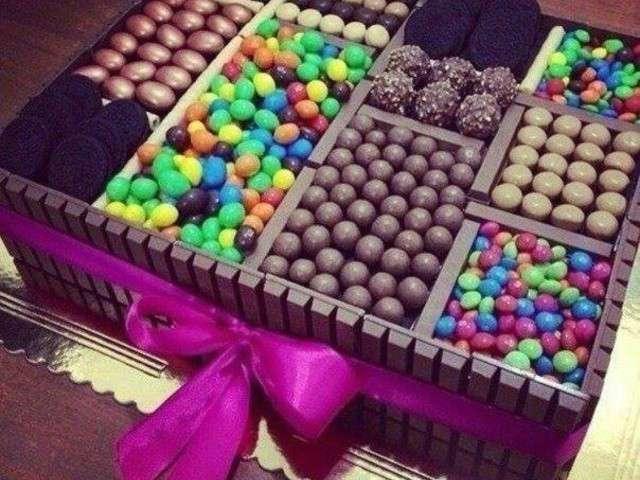 Recettes de g teau d 39 anniversaire au chocolat 2 - Decoration gateau chocolat anniversaire ...