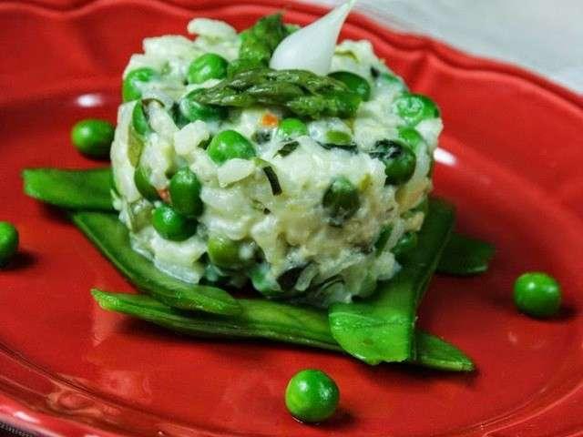 Recettes de pois gourmands et risotto - Cuisiner des pois gourmands ...