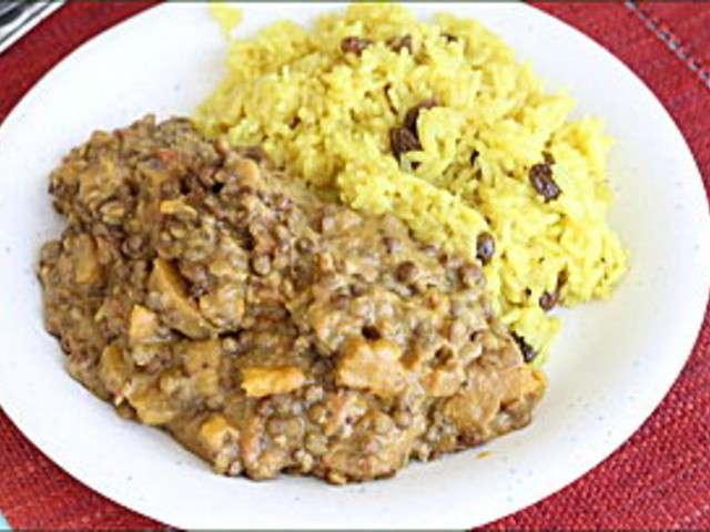 Les meilleures recettes de lentilles vertes et patate douce - Cuisson patate douce cocotte minute ...