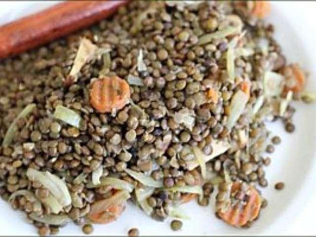 Recettes de lentilles vertes de v g carib - Comment cuisiner des lentilles blondes ...