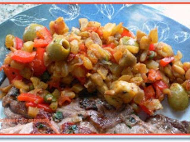 Recettes de poivron rouge - Recette cuisine quotidienne ...