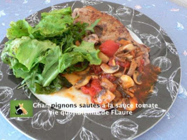 Recettes de champignon de paris et ail - Champignon de paris recette poelee ...