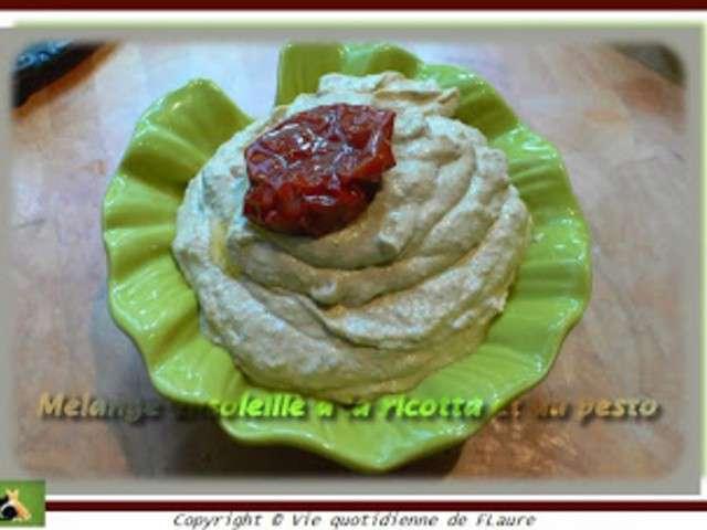 Recette De Cake A La Ricotta Tomates Sechees Pesto