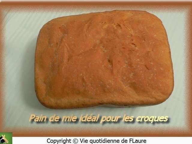 Recettes de machine pain et pain de mie - Pain de mie machine a pain ...