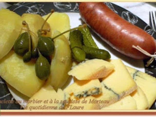 Recettes de morbier et saucisse - Comment cuisiner la saucisse de morteau ...
