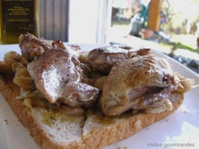 Les meilleures recettes d 39 ap ritif et oignons 2 for Cailles sur canape