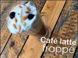 Café latte frappé au brownie monin