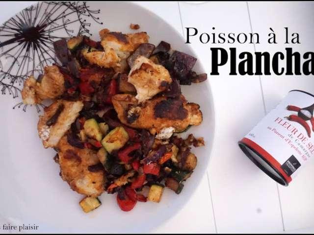 Recettes de plancha et poisson for Poisson a la plancha