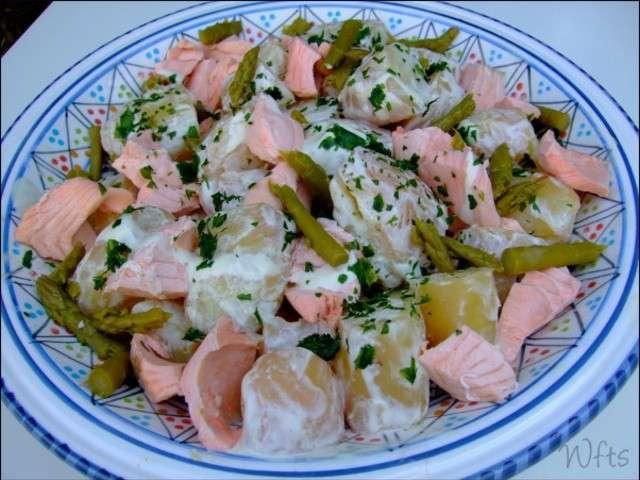 Recettes de pomme de terre et saumon 14 - Salade pomme de terre saumon fume ...