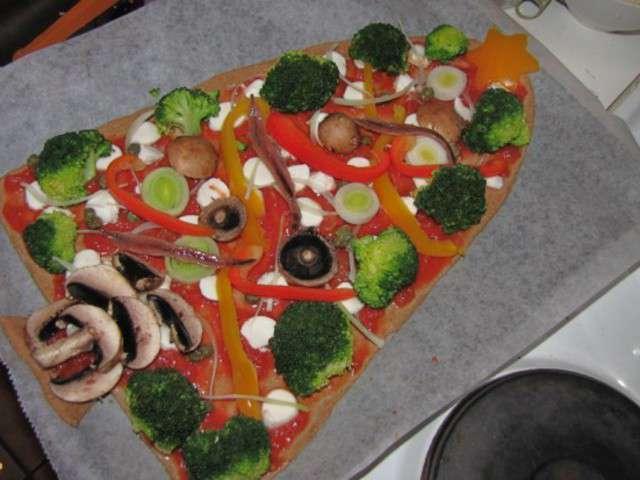 Repas de noel pas cher et original la pizza en forme de - Sapin de noel nordmann pas cher ...