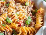 One Pan Pasta | Saucisses et tomates