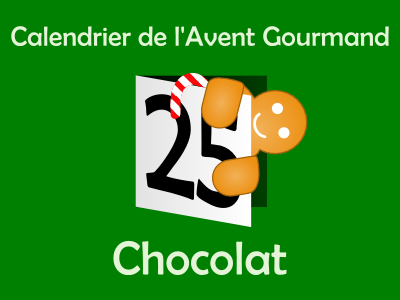 Calendrier de l'Avent gourmand - Chocolat 2013