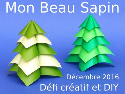 Défi Créatif - Mon Beau Sapin