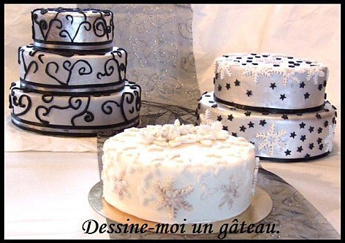 D fi cuisine les go ters industriels version home made for Decoration gateau nouvel an