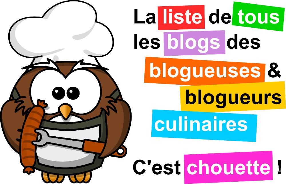 Liste des blogs cuisine
